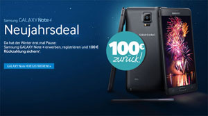 Neujahrsdeal Samsung Galaxy Note 4